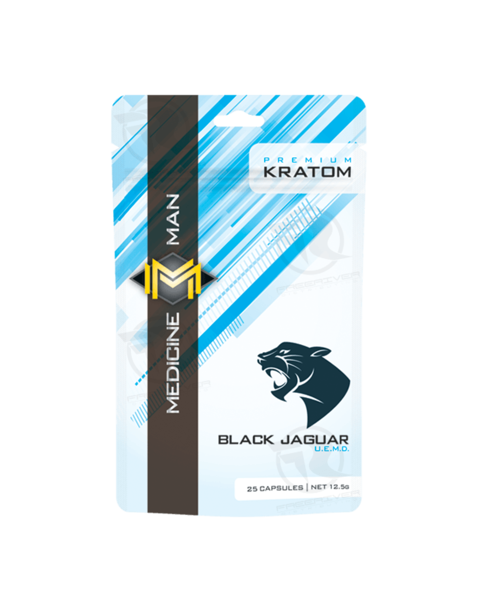 Medicine Man Kratom Black Jaguar 25 Caps