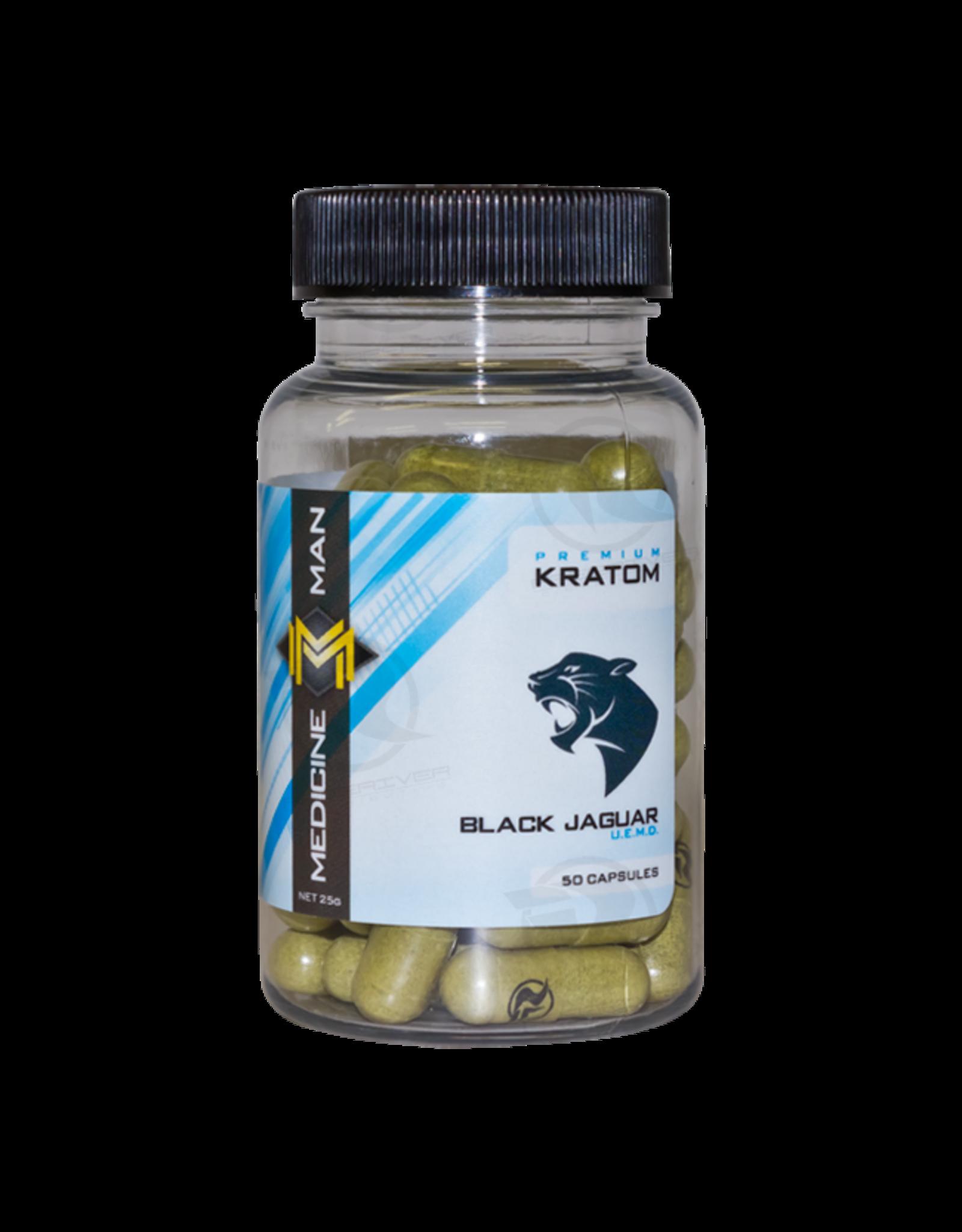 Medicine Man Kratom Black Jaguar 50 Caps