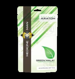 Medicine Man Kratom Green Malay 25 Caps