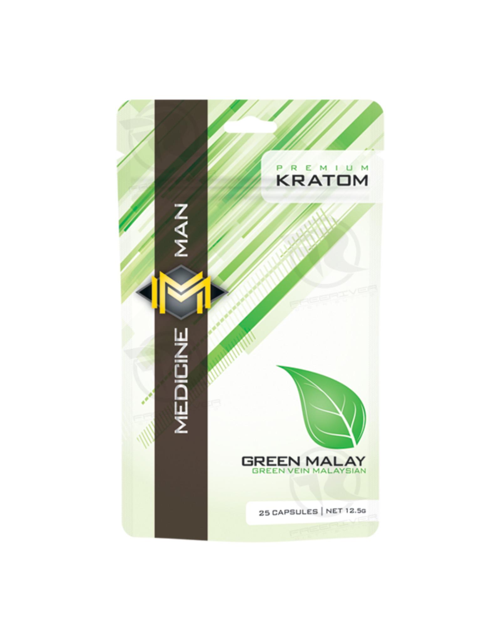 Medicine Man Kratom Green Malay 25 Caps