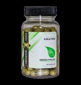Medicine Man Kratom Green Malay 50 Caps 6pk