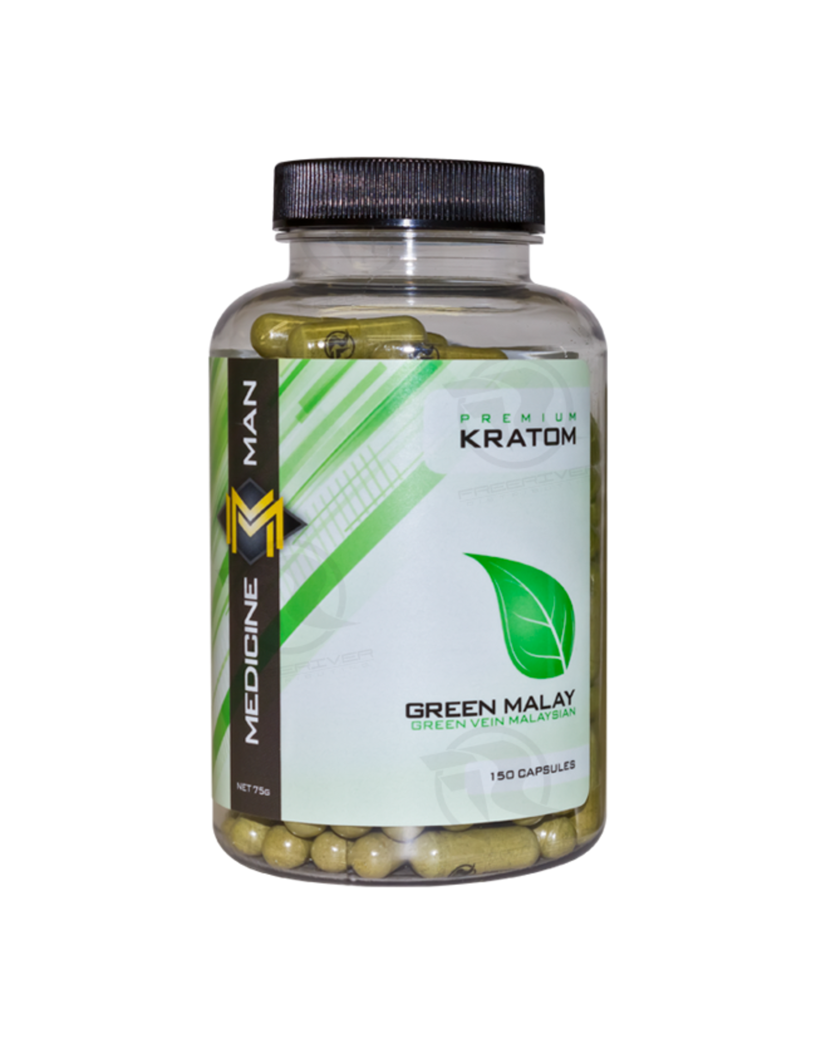 Medicine Man Kratom Green Malay 150 Caps