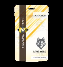 Medicine Man Kratom Lone Wolf 1oz Powder 12pk