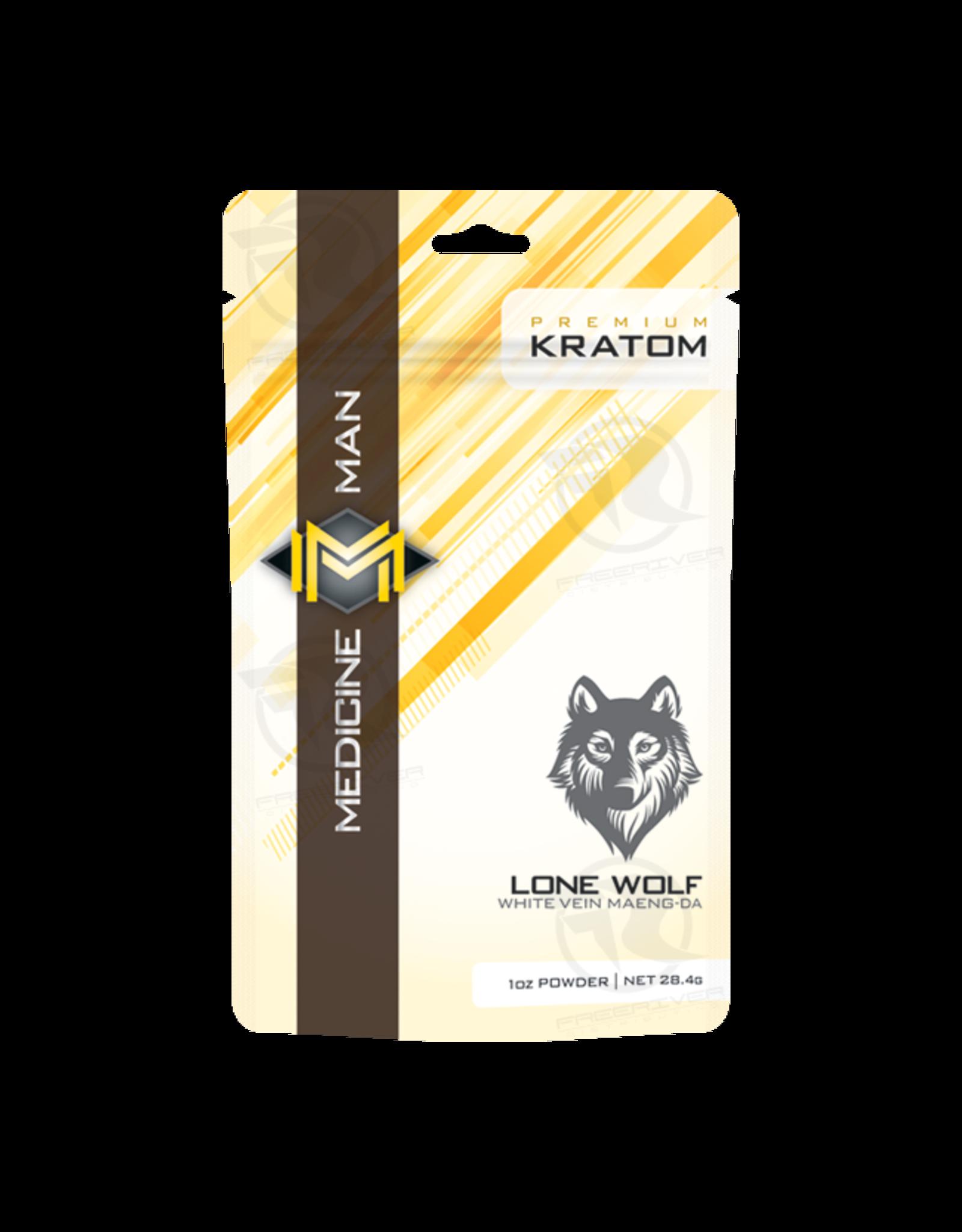 Medicine Man Kratom Lone Wolf 1oz Powder