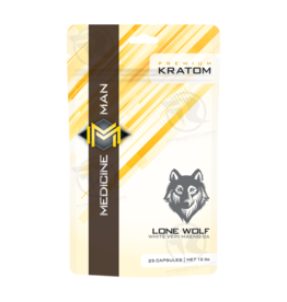 Medicine Man Kratom Lone Wolf 25 Caps