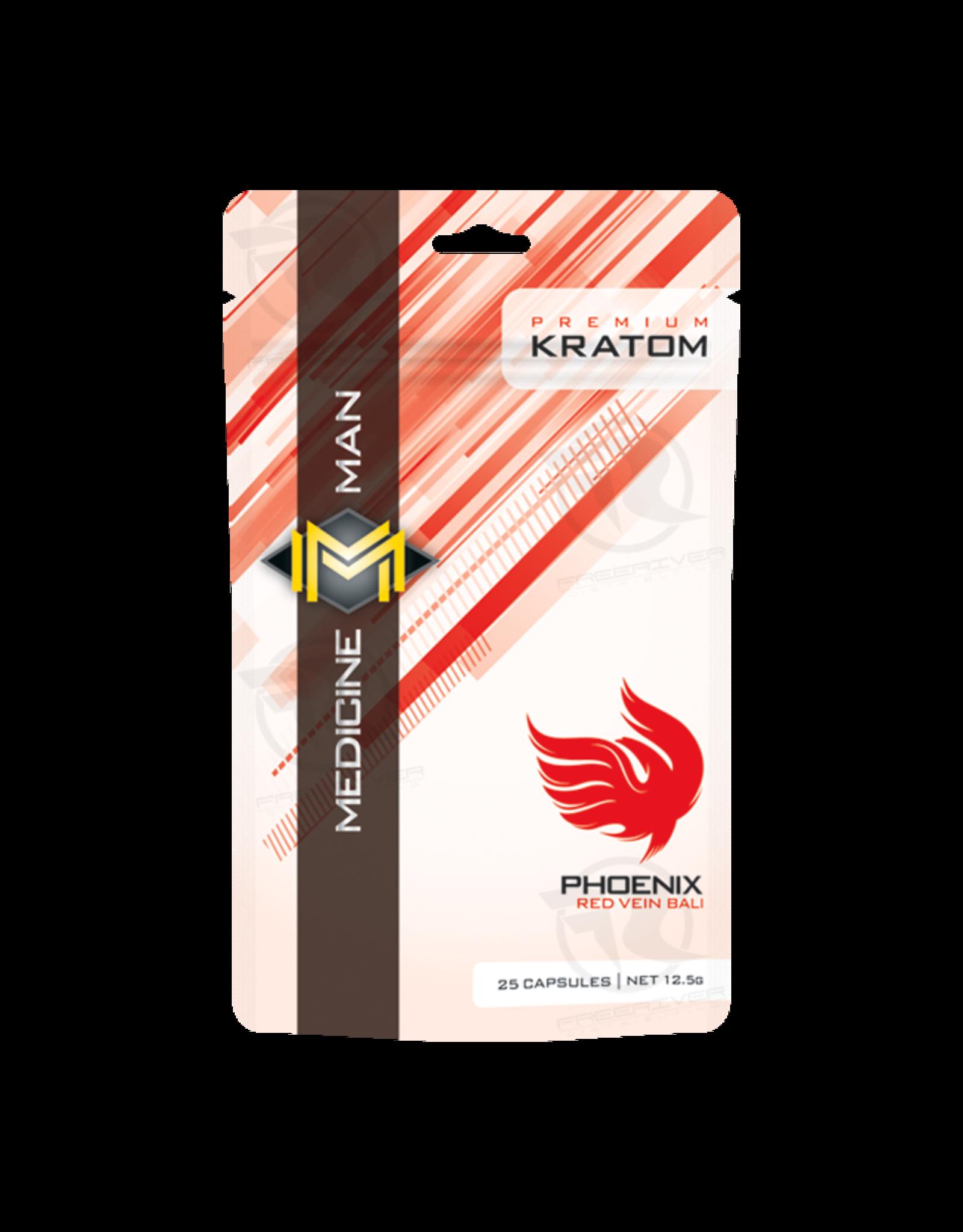 Medicine Man Kratom Phoenix 25 Caps 12pk