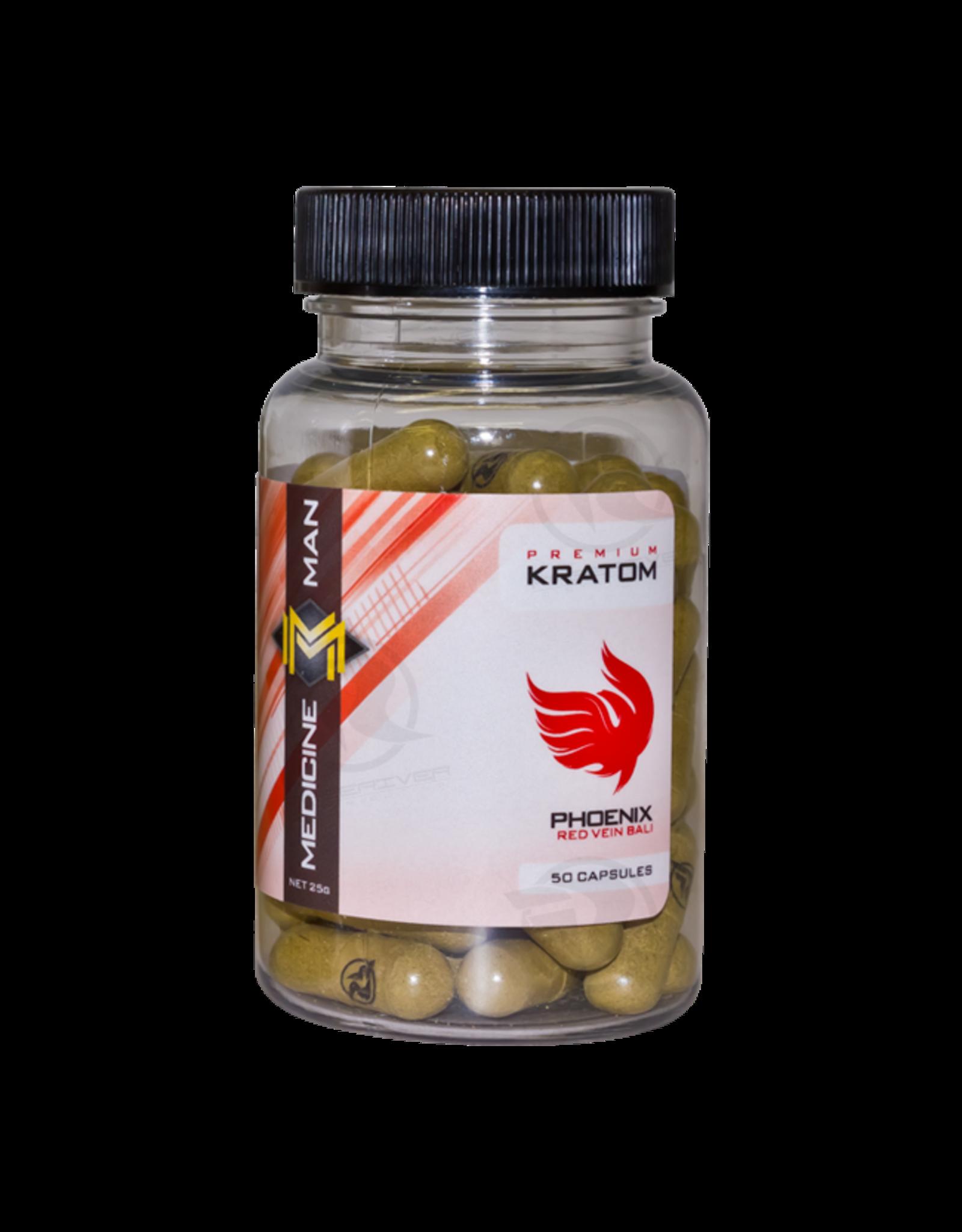 Medicine Man Kratom Phoenix 50 Caps 6pk