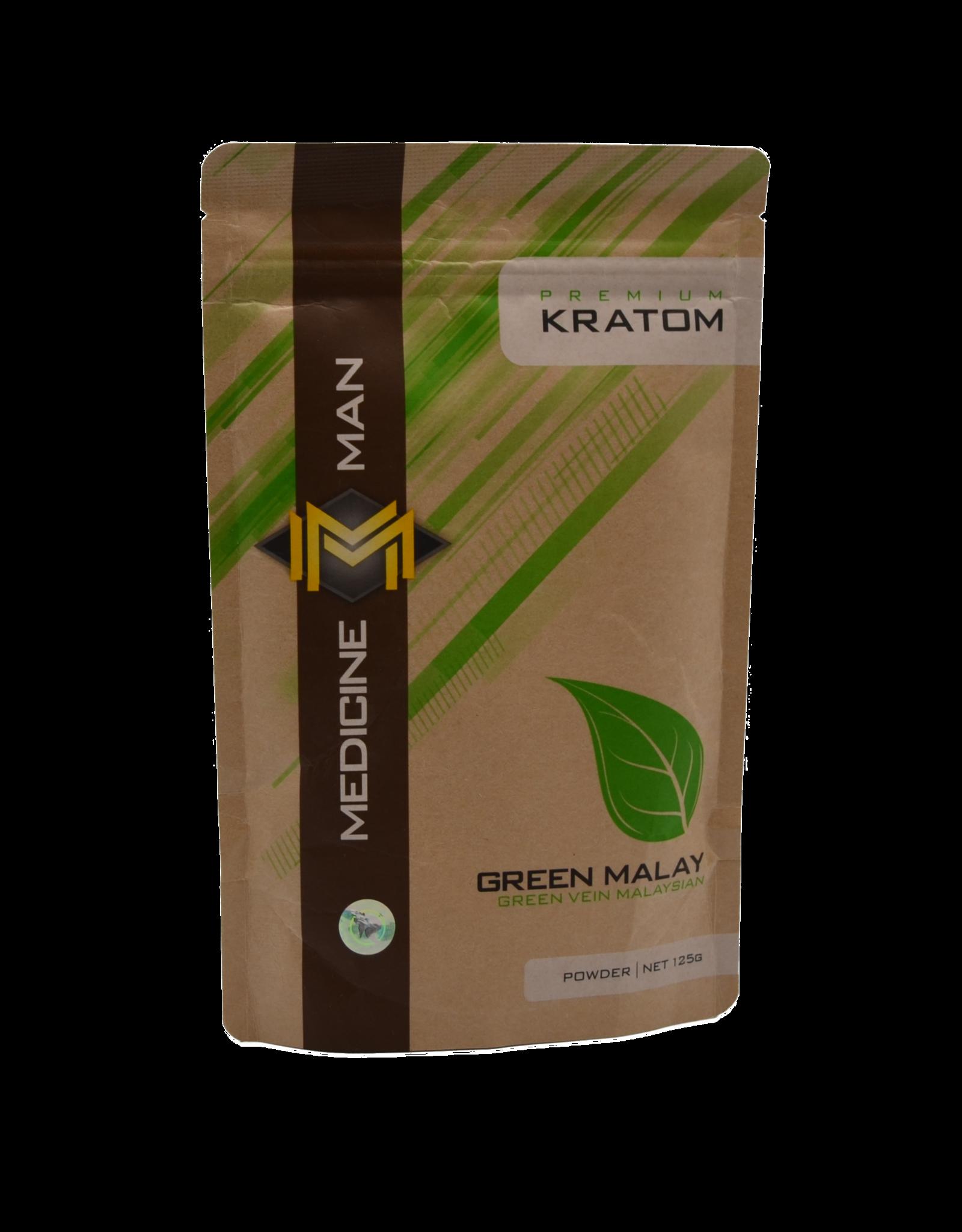 Medicine Man Kratom Green Malay 125g Powder 6pk