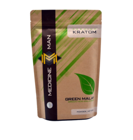 Medicine Man Kratom Green Malay 250g Powder