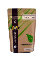 Medicine Man Kratom Green Malay 250g Powder 6pk