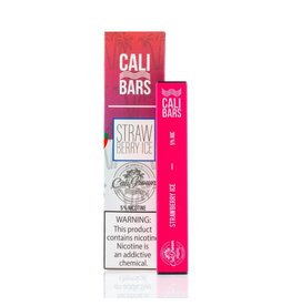 Cali Bars Cali Bars Strawberry Ice 5%