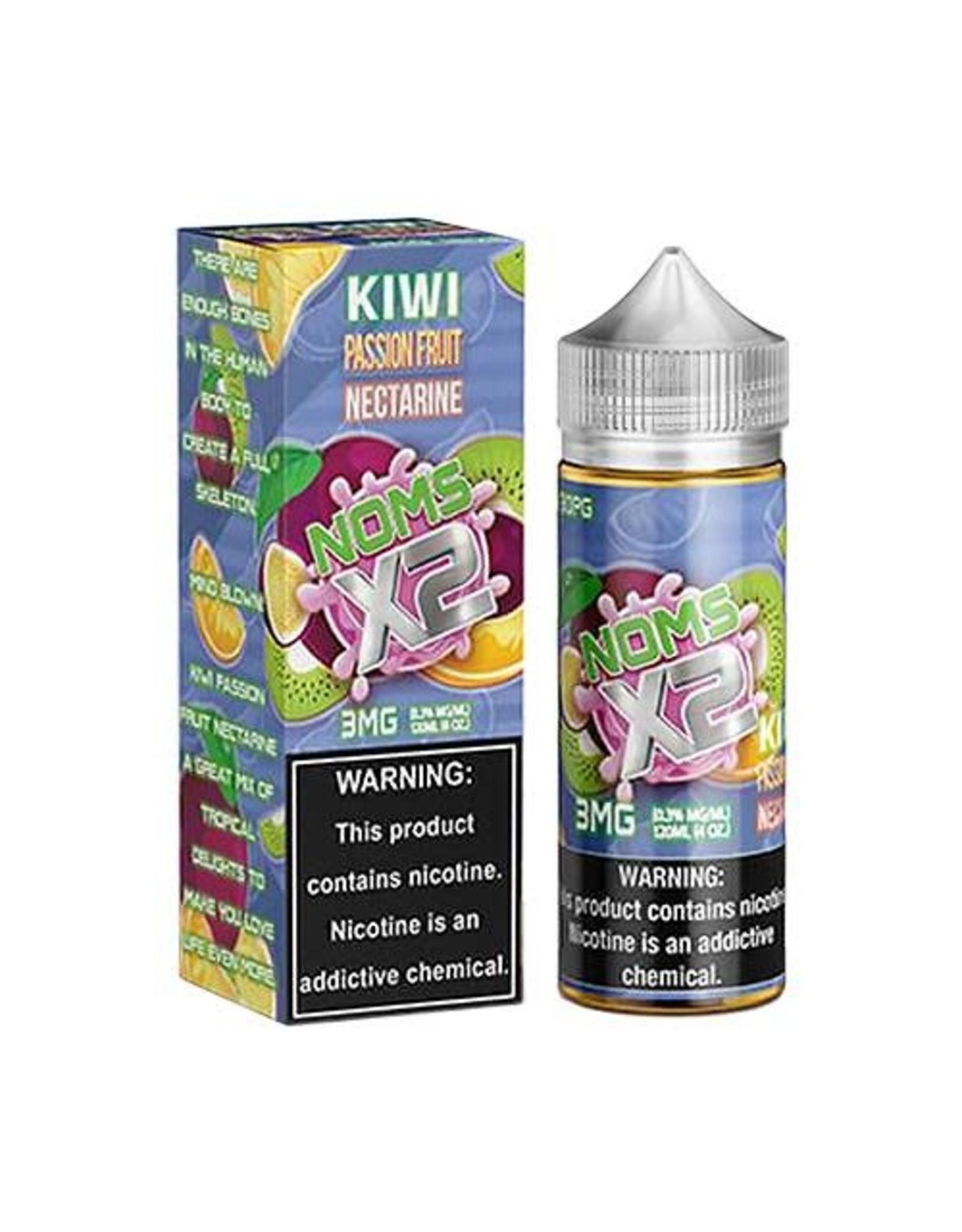 Noms Ejuice  Kiwi Passion Fruit Nectarine 120 mL 3MG