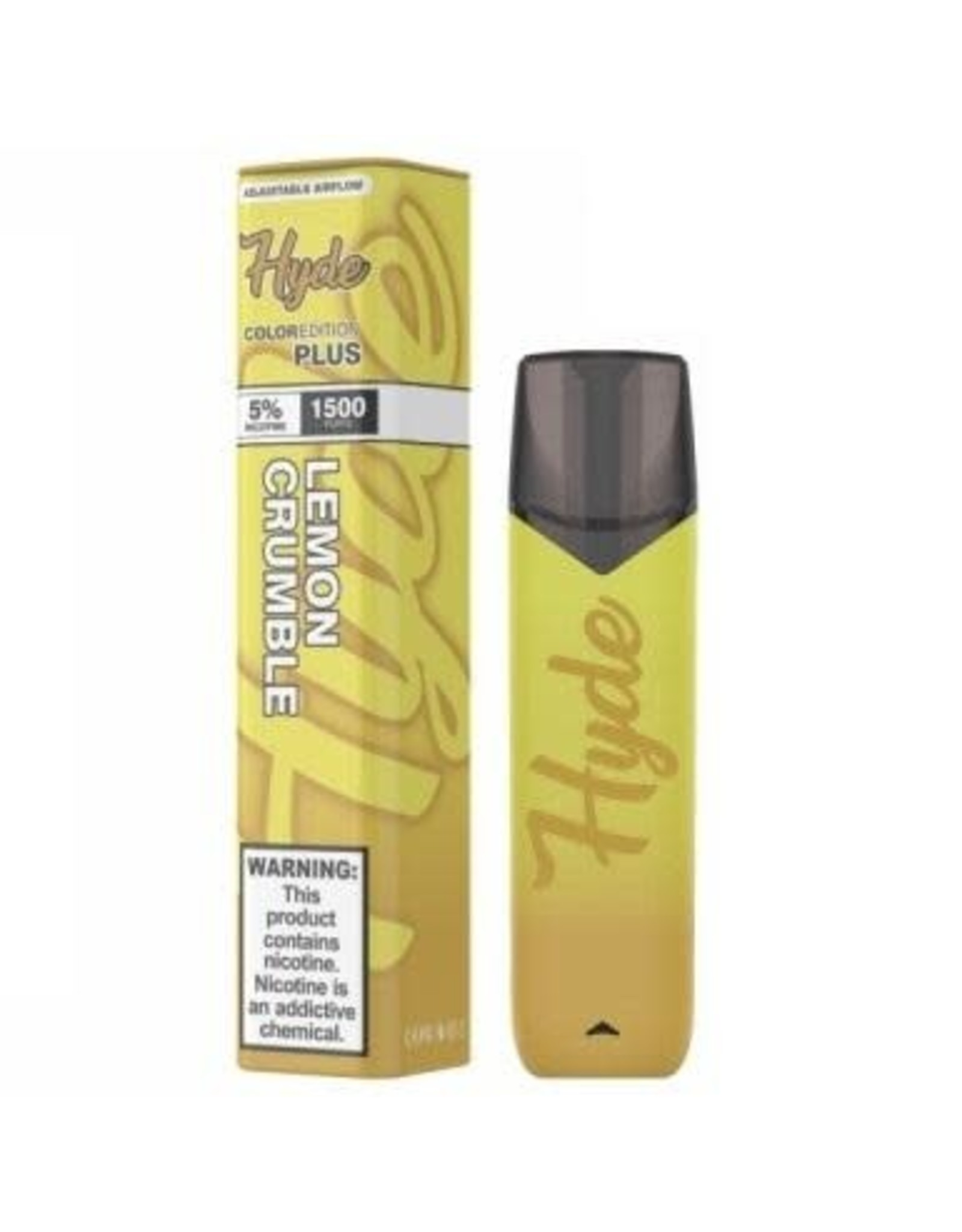 Hyde Hyde Color Plus Lemon Crumble 1500puff