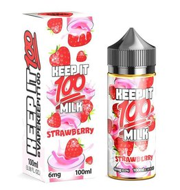 Keep it 100 Keep It 100 Strawberry Milk 100 6