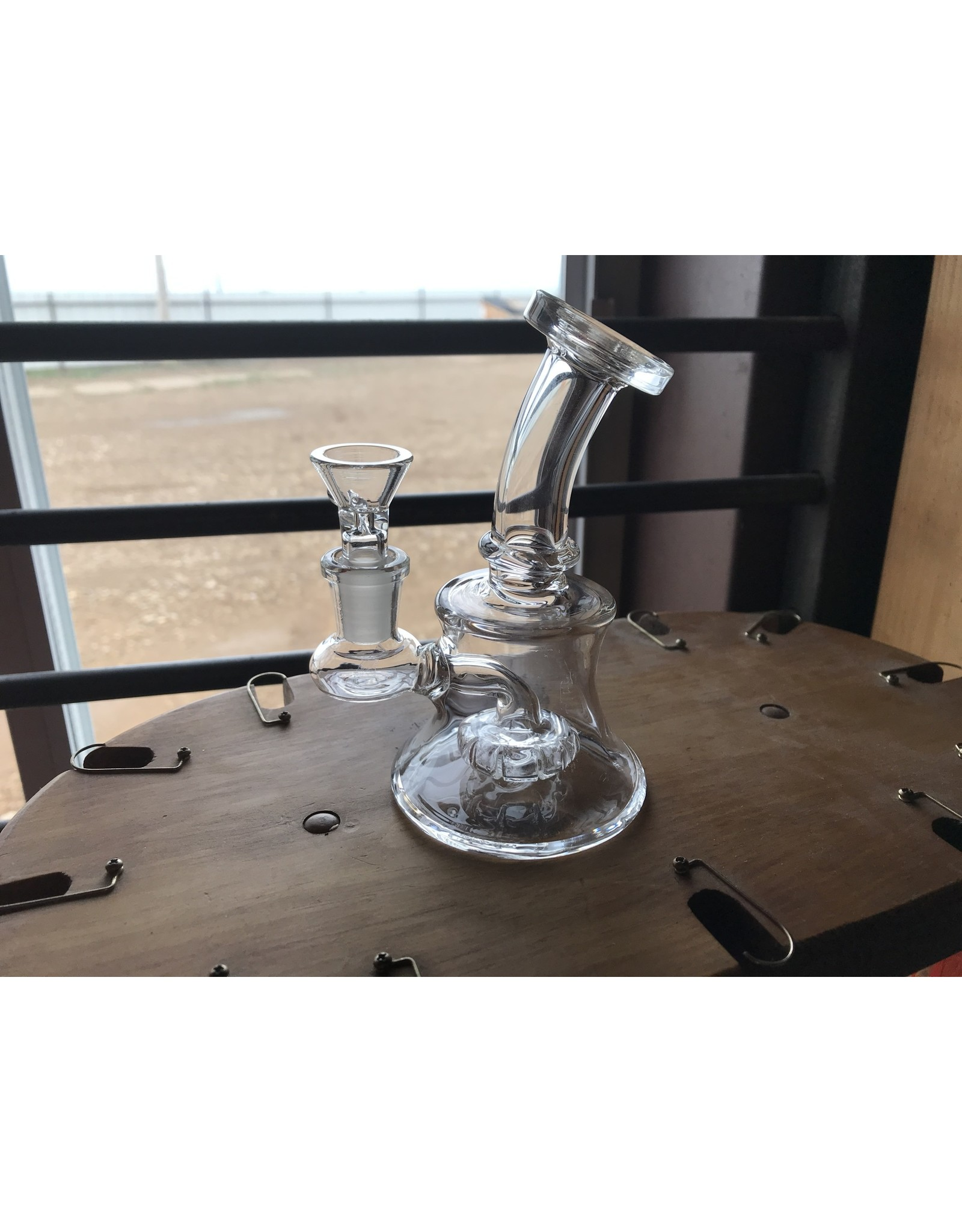 Bougie Small Clear Water Pipe