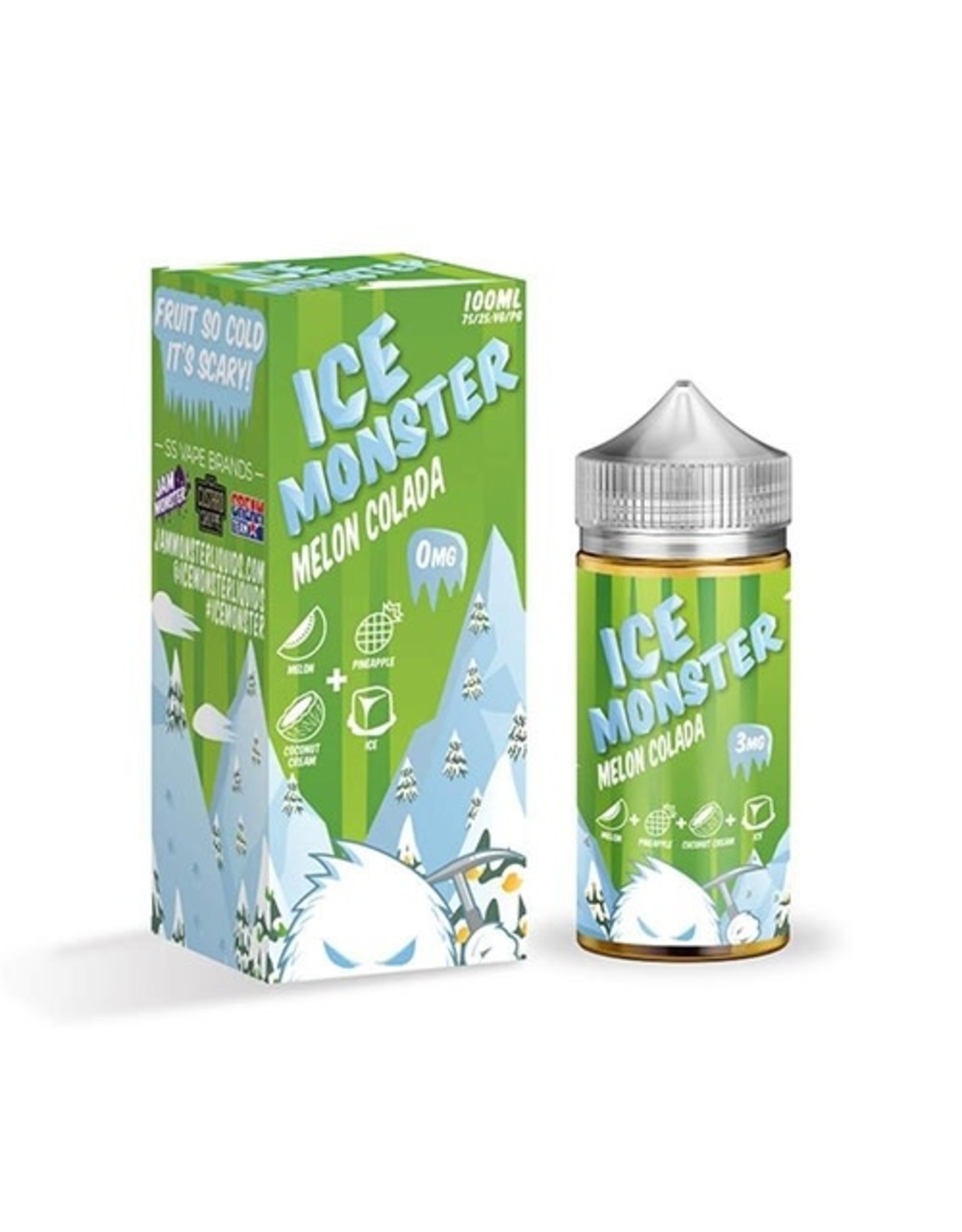 Jam Monster Jam Monster Ice Monster Melon Colada 100ML 0MG