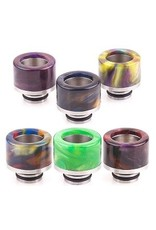 510 Drip Tip Epoxy Resin Cone W/ SS Base