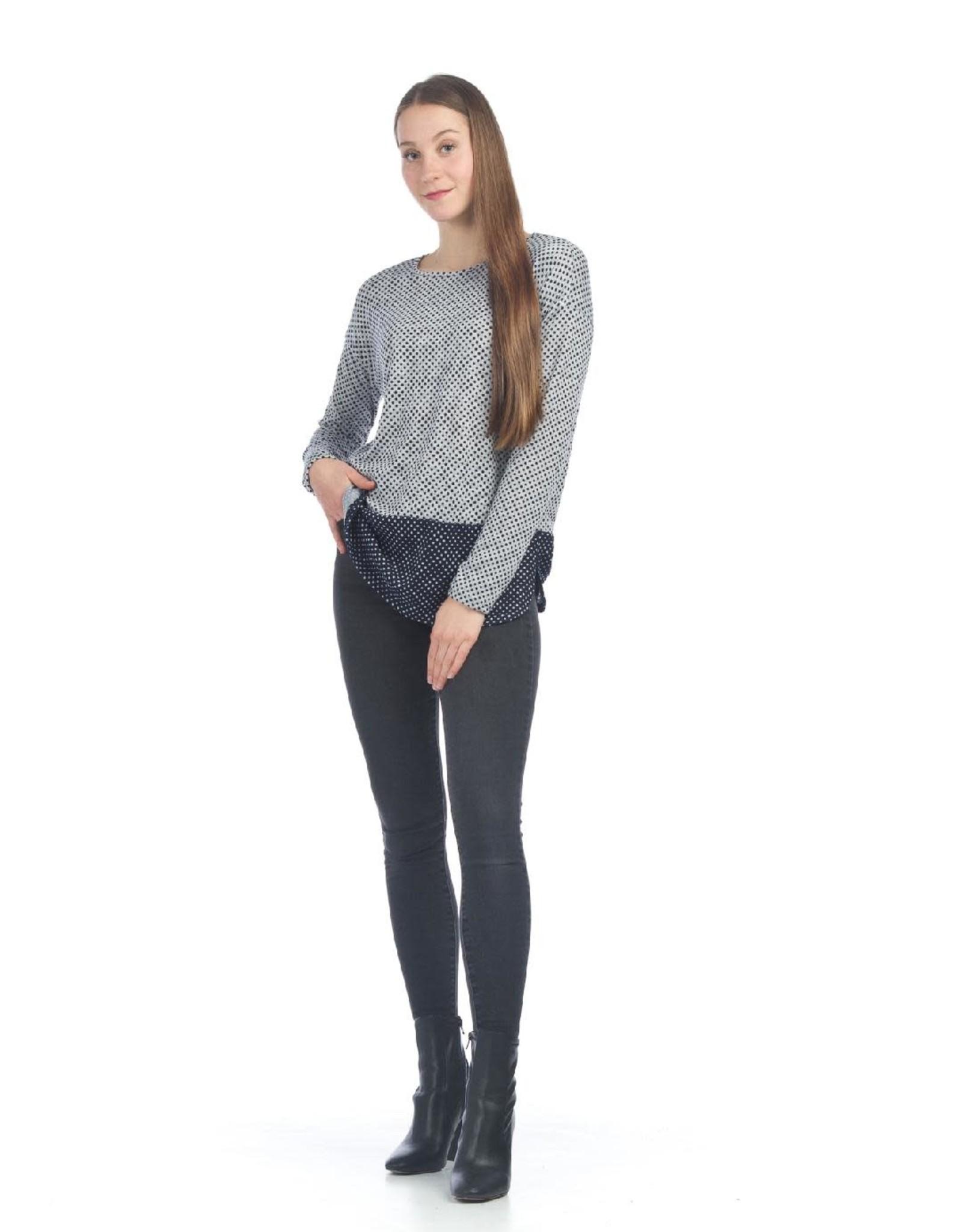 Small Layered Polka Dot Sweater