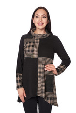 Small Patchwork Printed Tunic