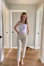 Baggy Pant with Elastic Waist