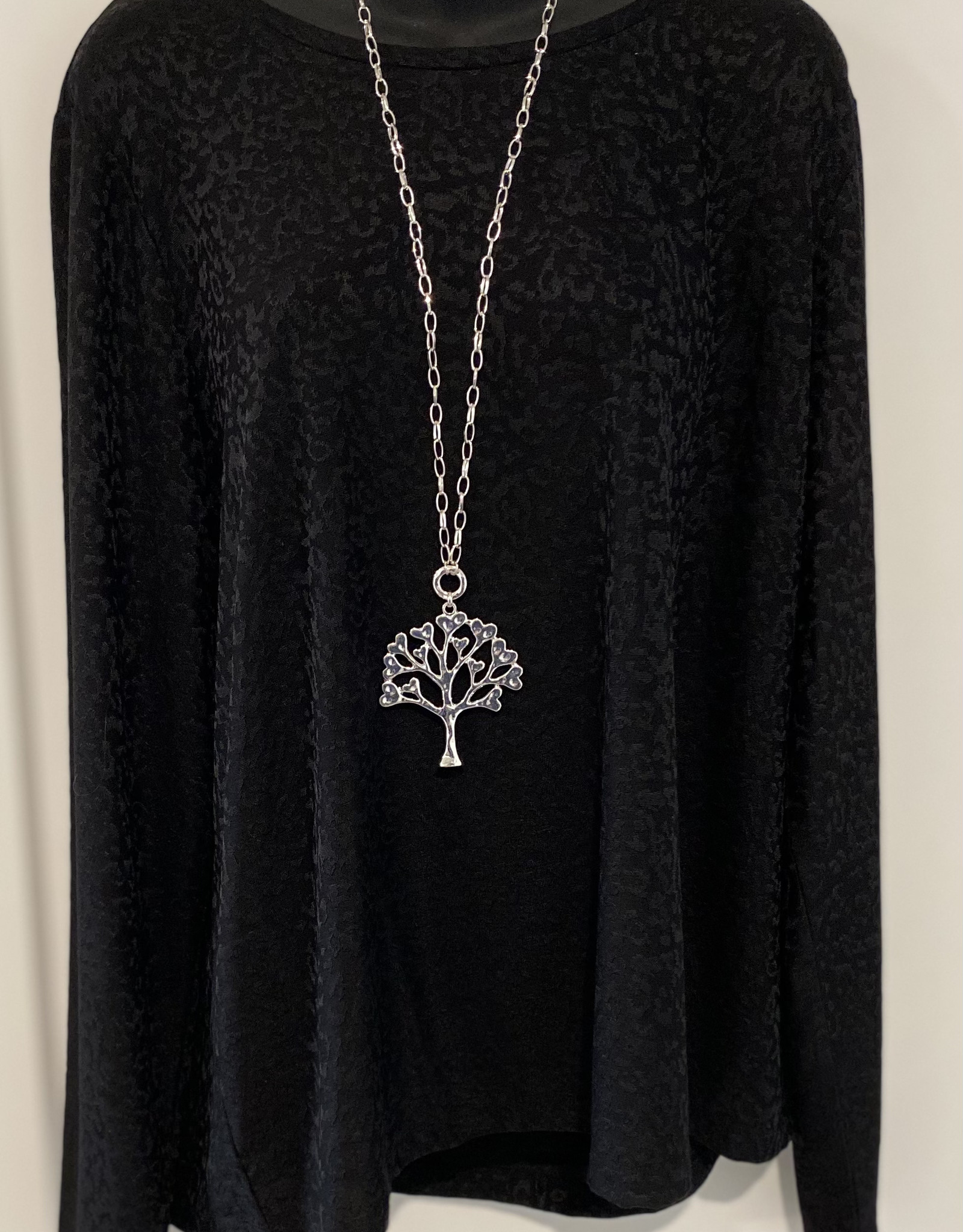 Rope Style- Tree of Life Pendant Necklace