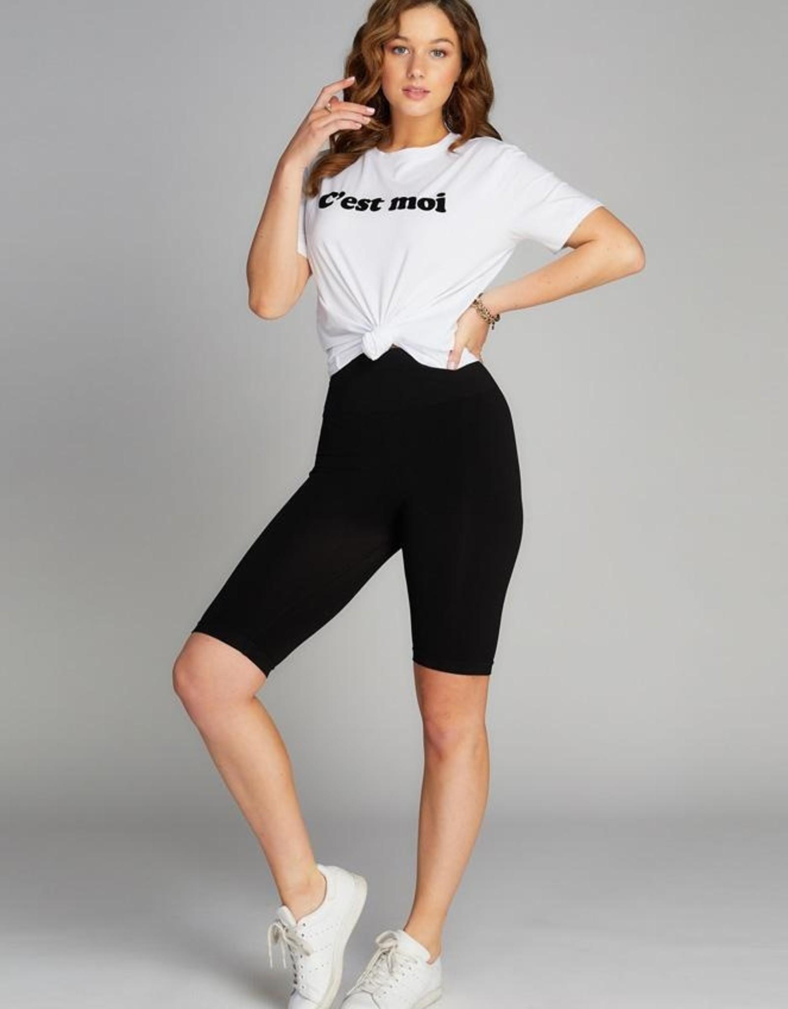 High Waisted Long Short