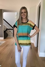 Water Colour Top w Drawstring