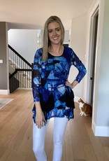 Printed Tunic with Pockets