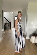 Soft Striped Jumpsuit