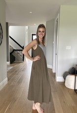 Patchwork Maxi Dress w  Pockets