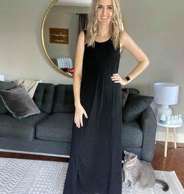 Princess Seam Maxi Dress