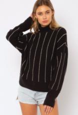 Amuse Women's Aline L/S Knit Sweater