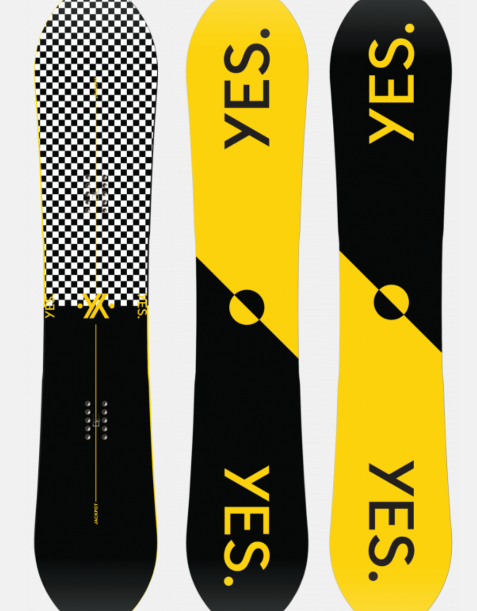 YES Yes Men's Jackpot Snowboard 2021