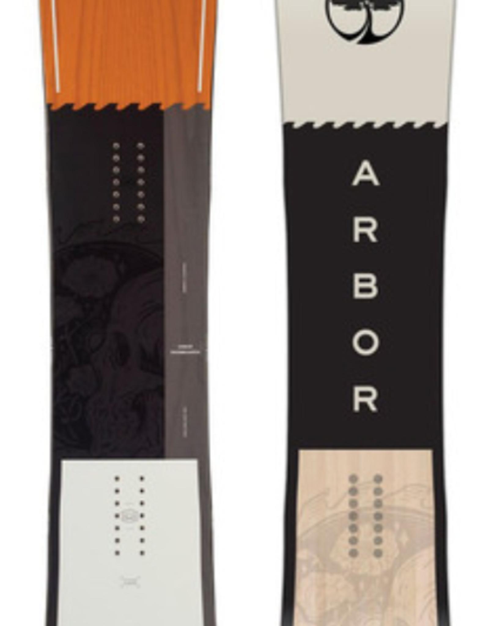 Arbor Men's Crosscut Camber Snowboard 2021
