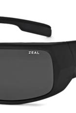 Zeal Snapshot Matte Black Frame with Polarized Dark Grey Lens Sunglasses