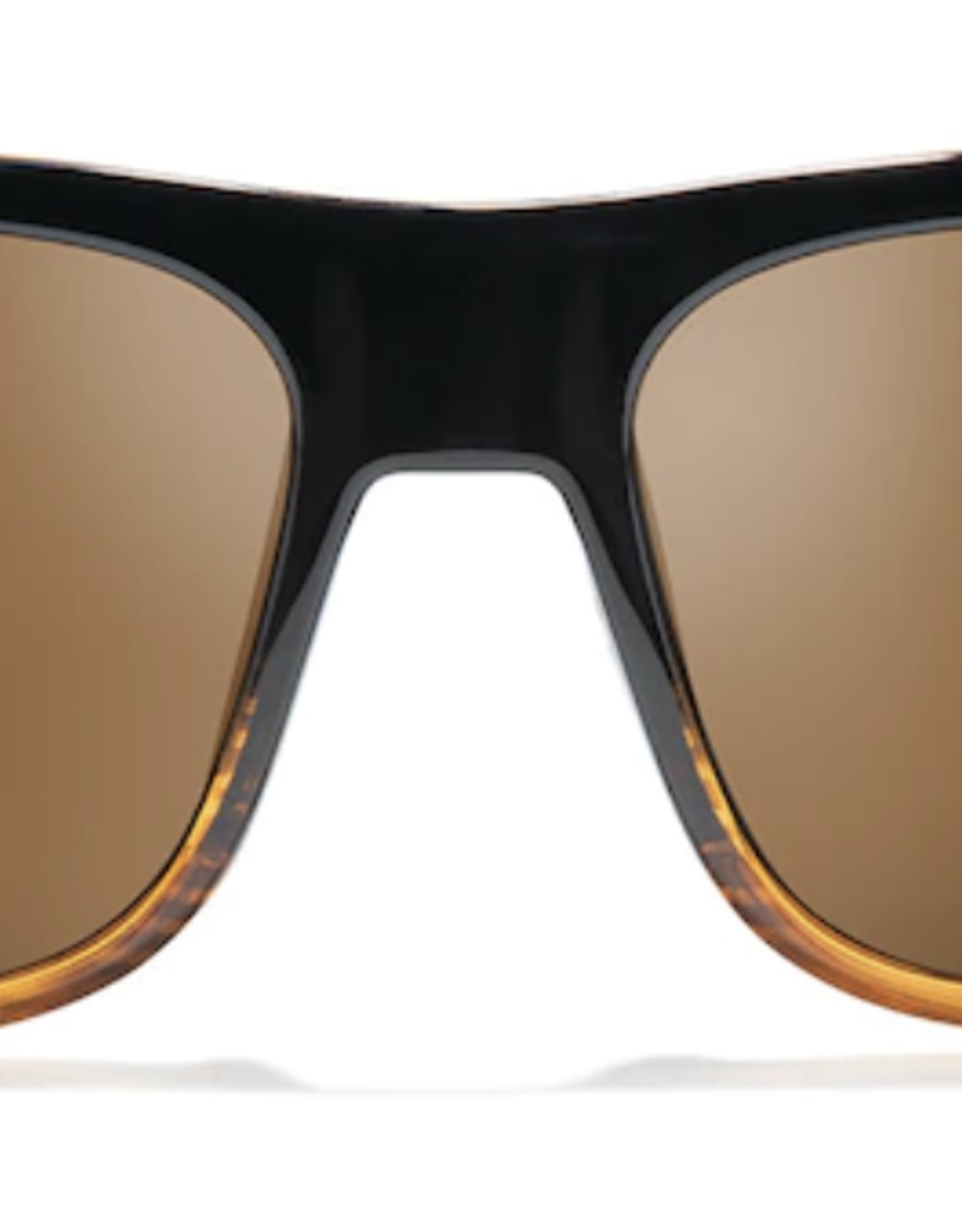 Zeal Rampart Gloss Torched Woodgrain Frame with Polarized Copper Lens Sunglasses