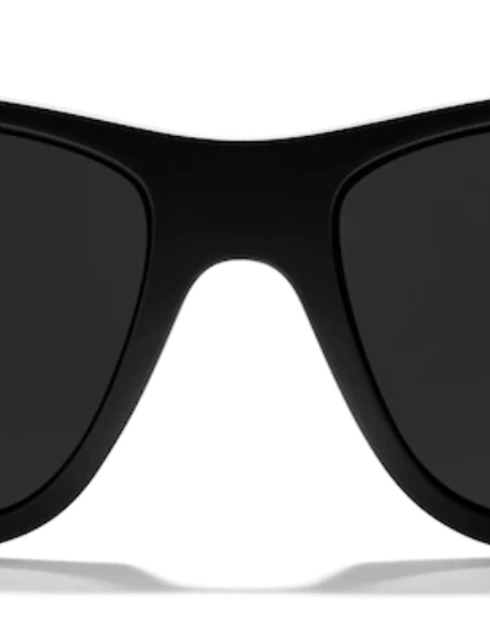 Zeal Radium Matte Black Frame with Polarized Dark Grey Lens Sunglasses