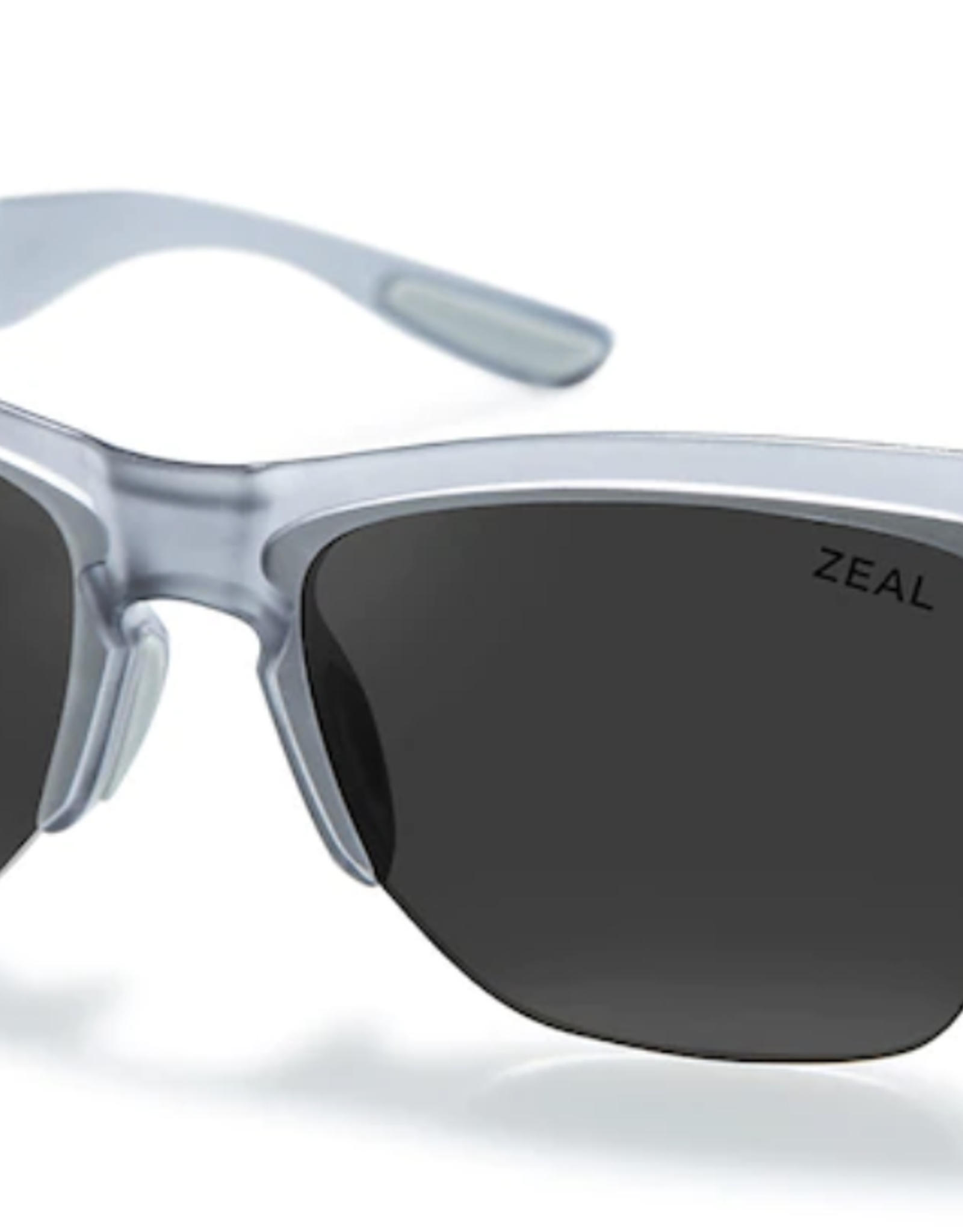 Zeal Palisade Matte Smoke Frame with Polarized Dark Grey Lens Sunglasses