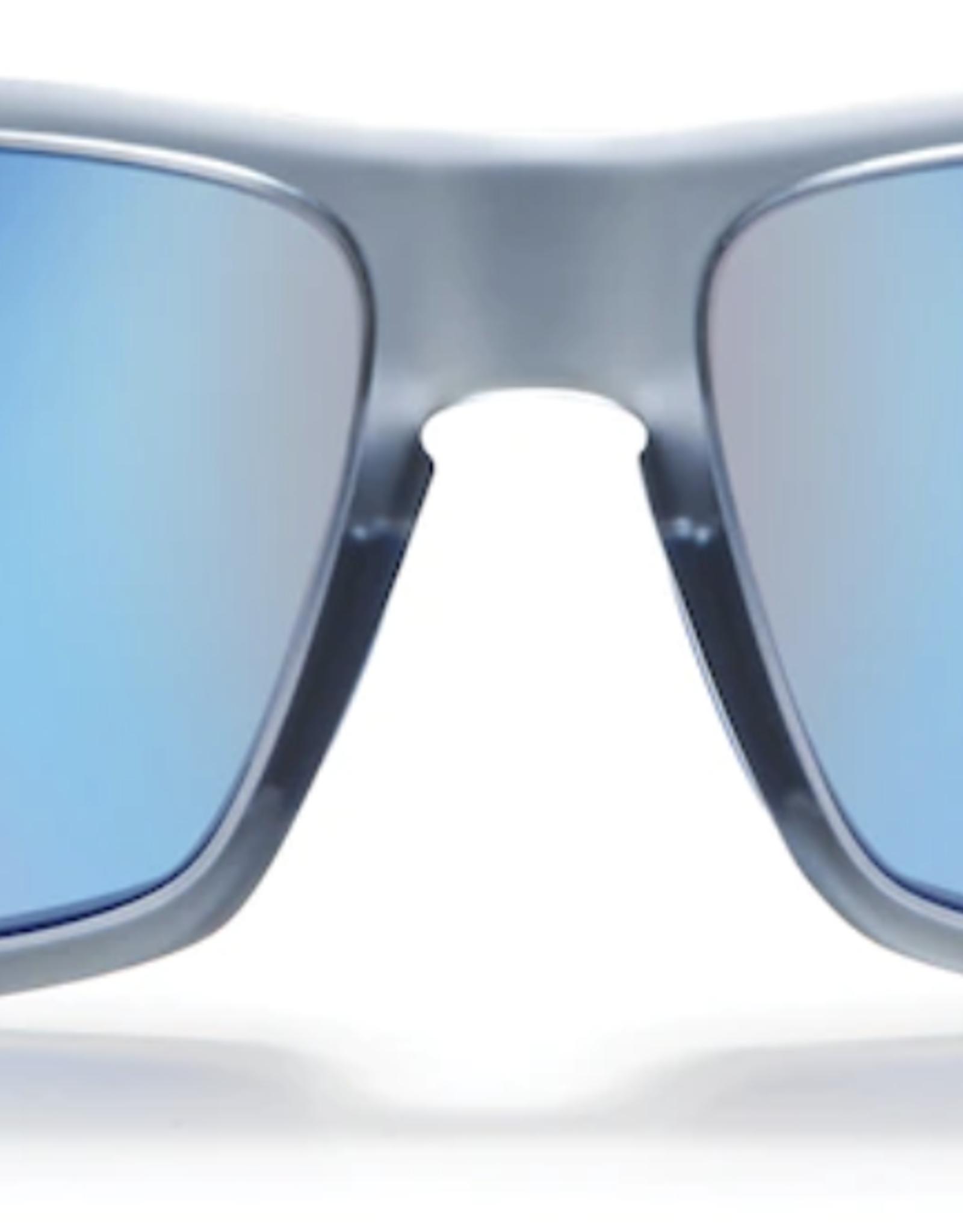Zeal Incline Matte Smoke Frame with Polarized Horizon Blue Lens Sunglasses