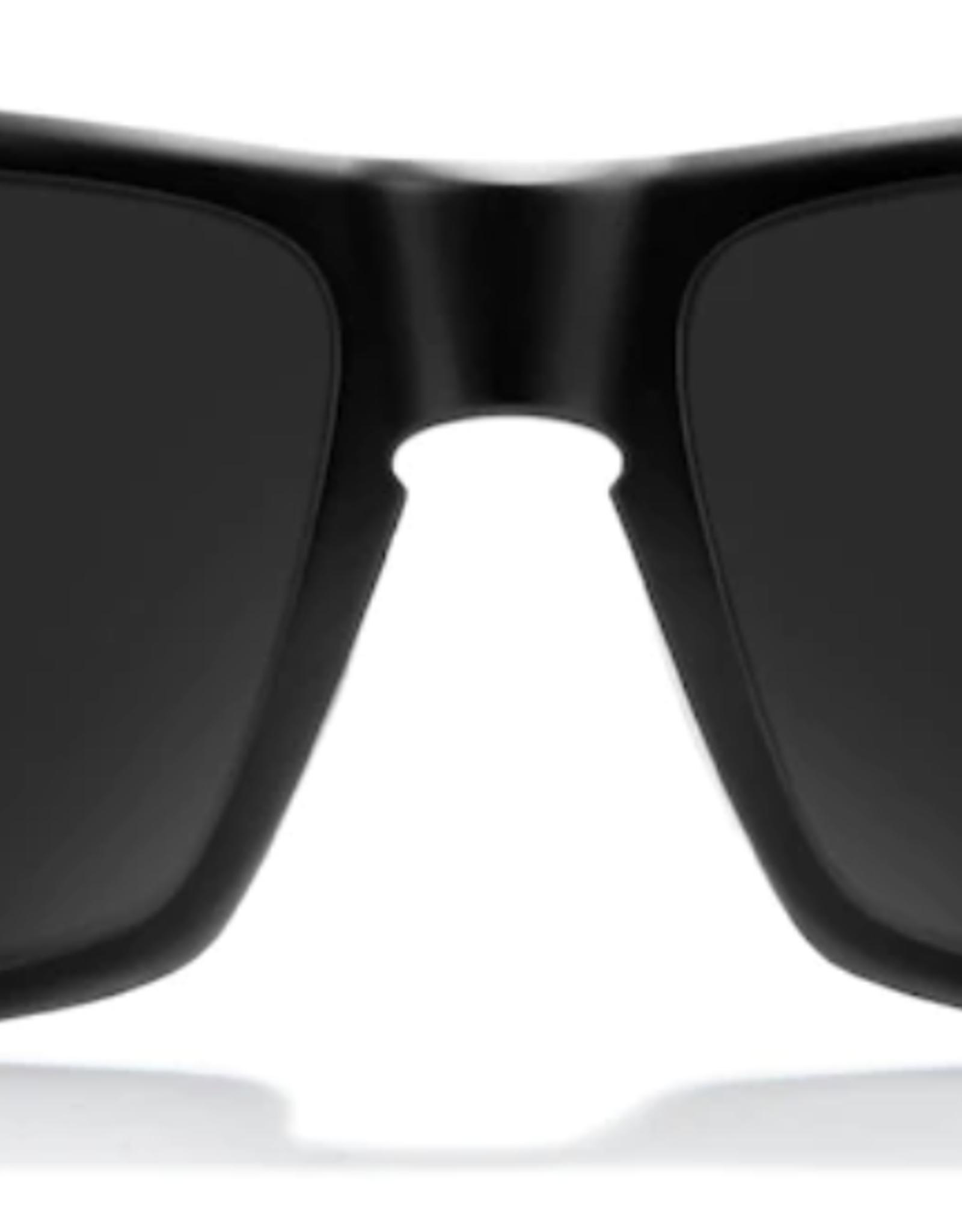 Zeal Incline Matte Black Frame with Polarized Dark Grey Lens Sunglasses