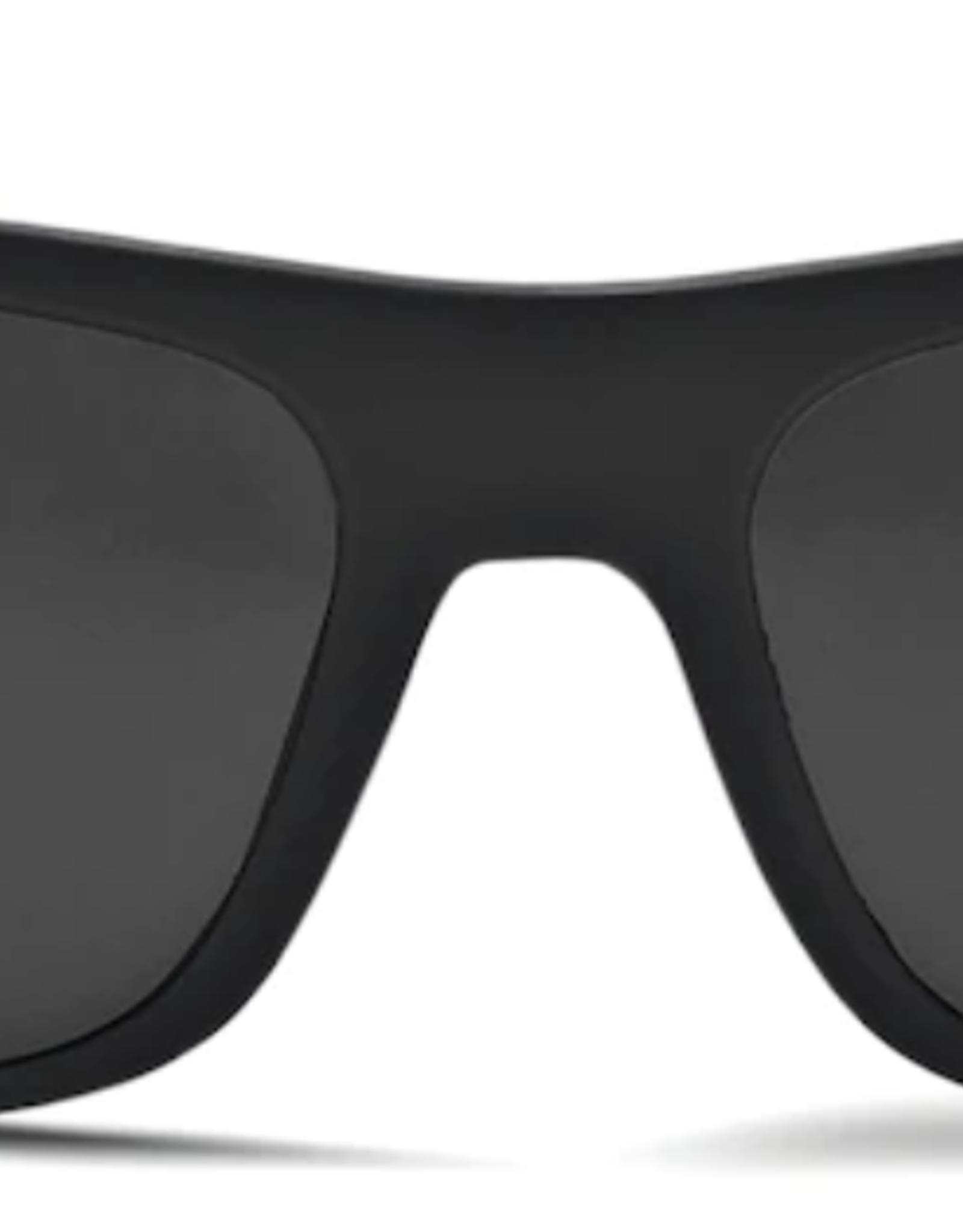 Zeal Essential Matte Black Frame with Polarized Dark Grey Lens Sunglasses