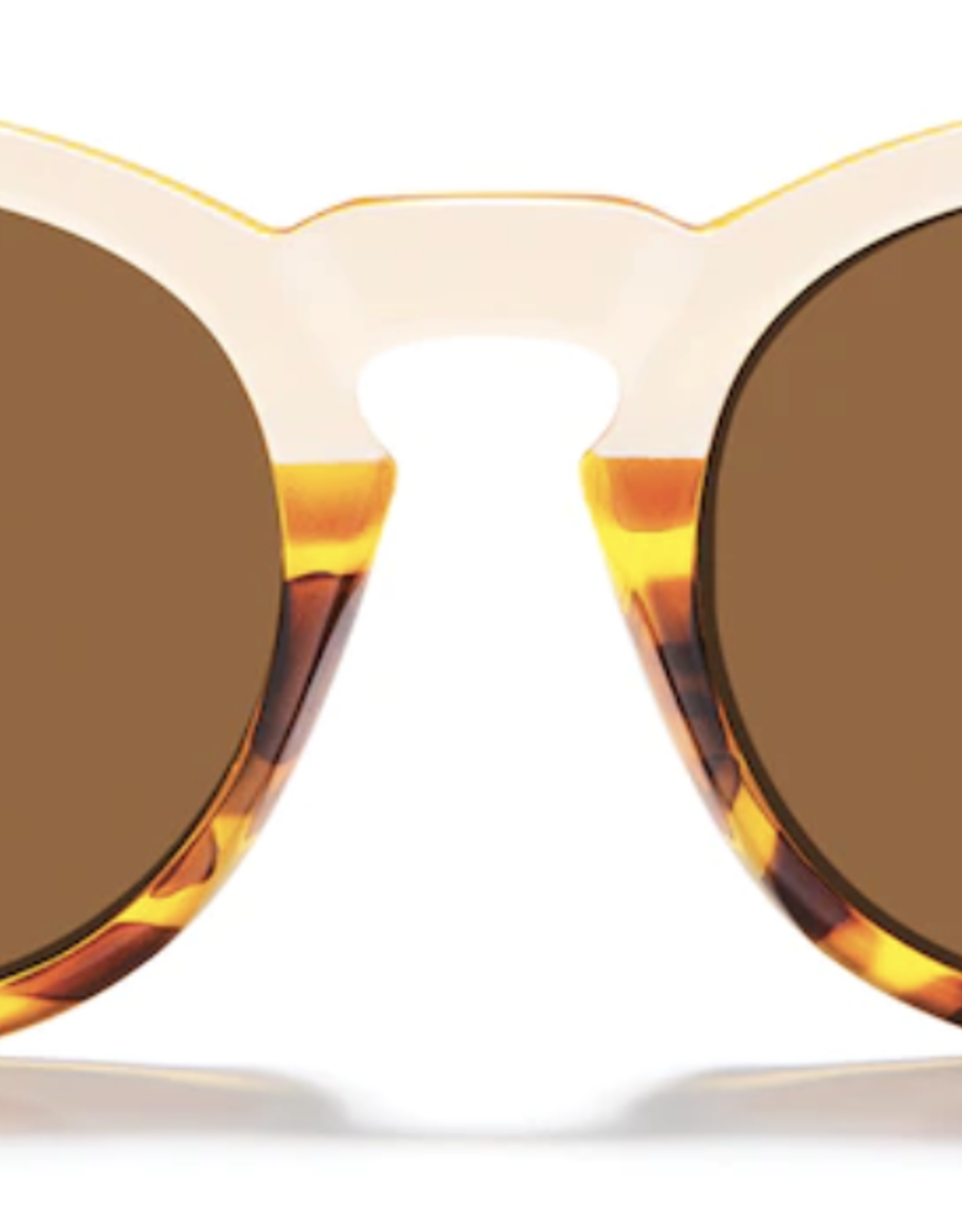 Zeal Crowley Ivory Tortoise Frame with Polarized Copper Lens Sunglasses