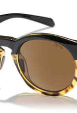 Zeal Crowley Black Tortoise Frame with Polarized Copper Lens Sunglasses