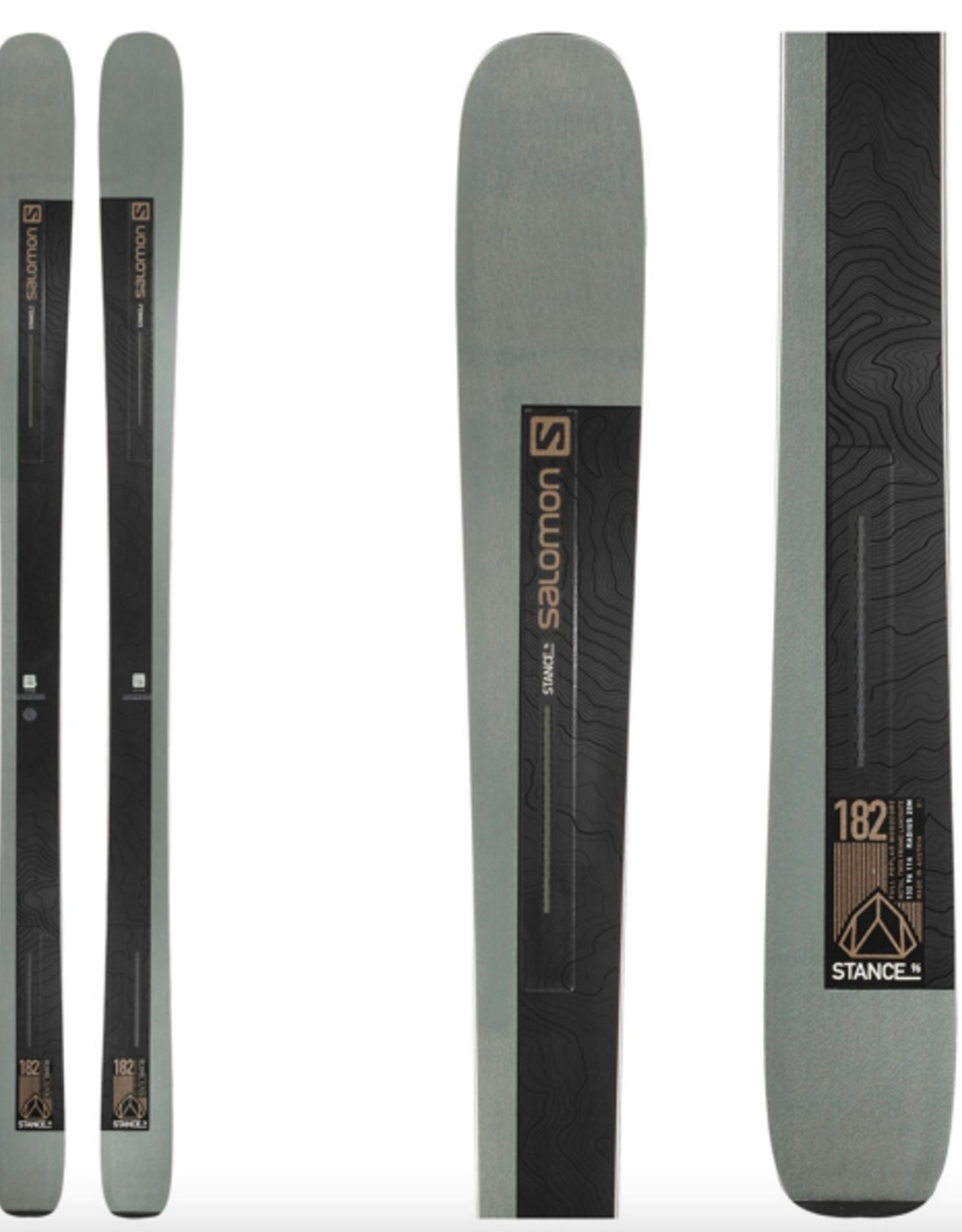 Salomon Men's Stance 96 Skis 2021 176CM