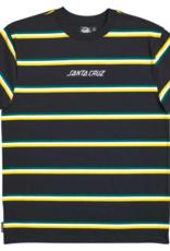 Santa Cruz Men's Solid Stripe S/S Tee