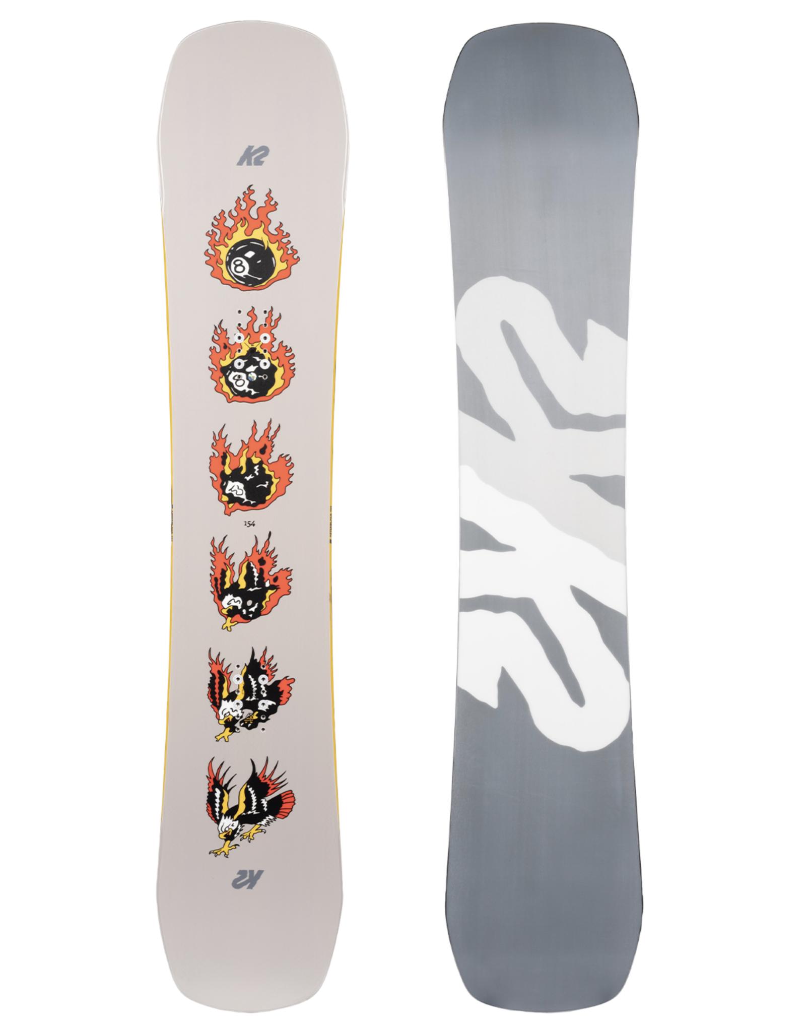 K2 Men's Afterblack Snowboard 2022