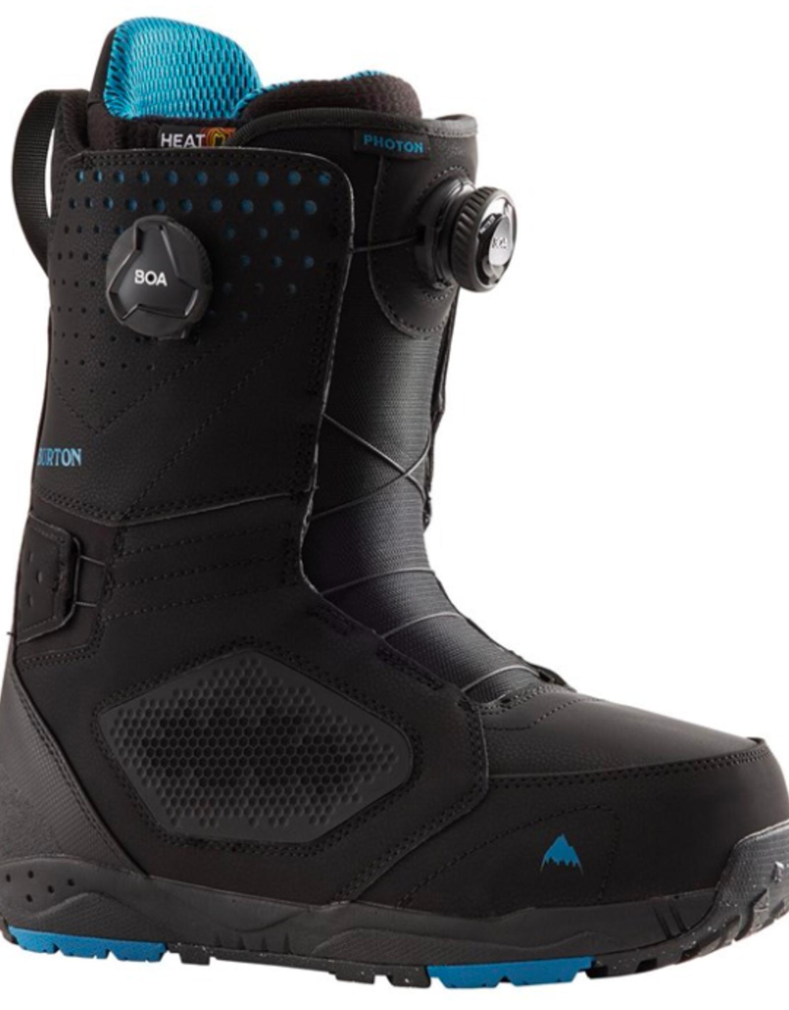 BURTON Burton Men's Photon Boa Wide Snowboard Boots Black 2022