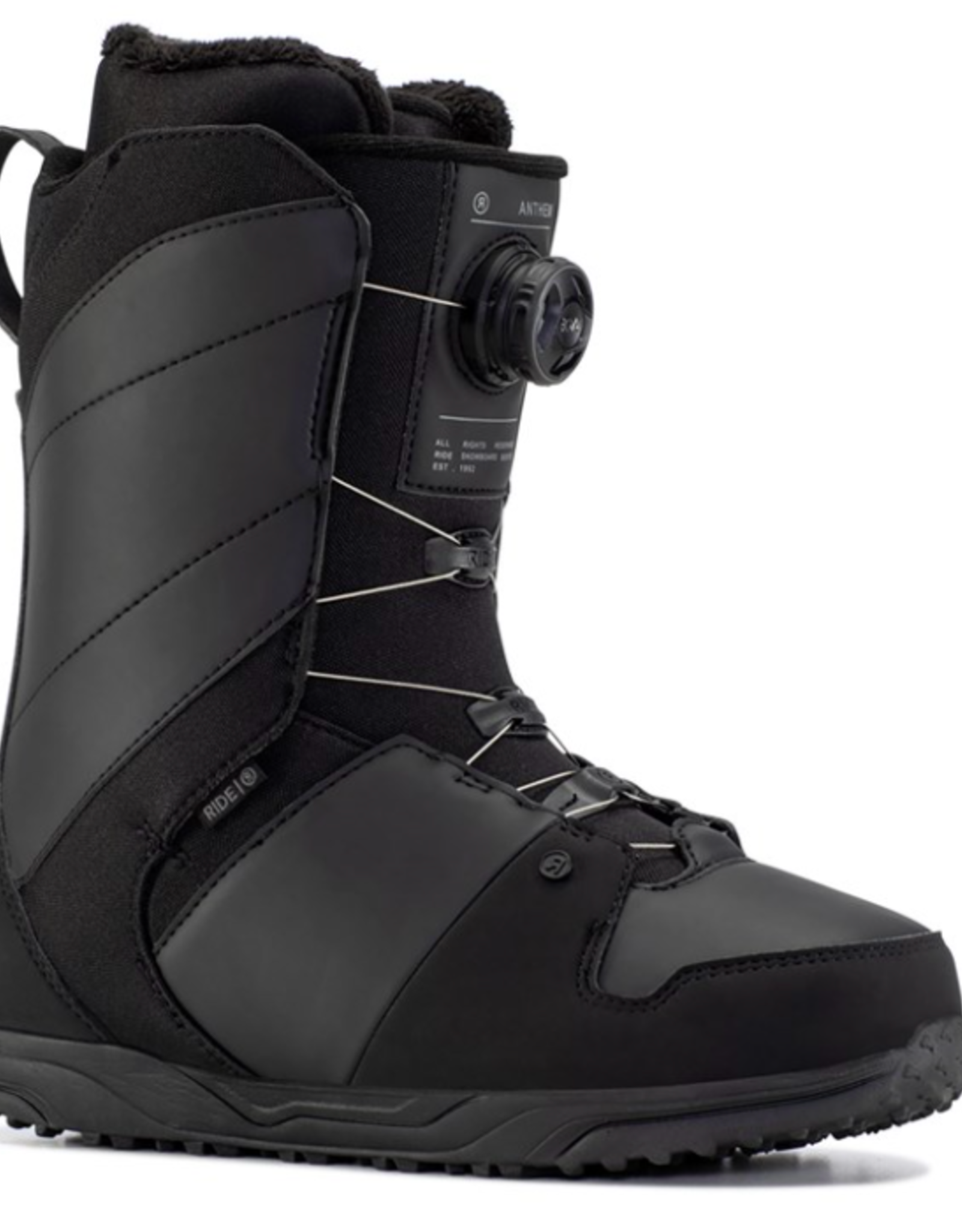 RIDE Ride Men's Anthem Snowboard Boots Black 2022