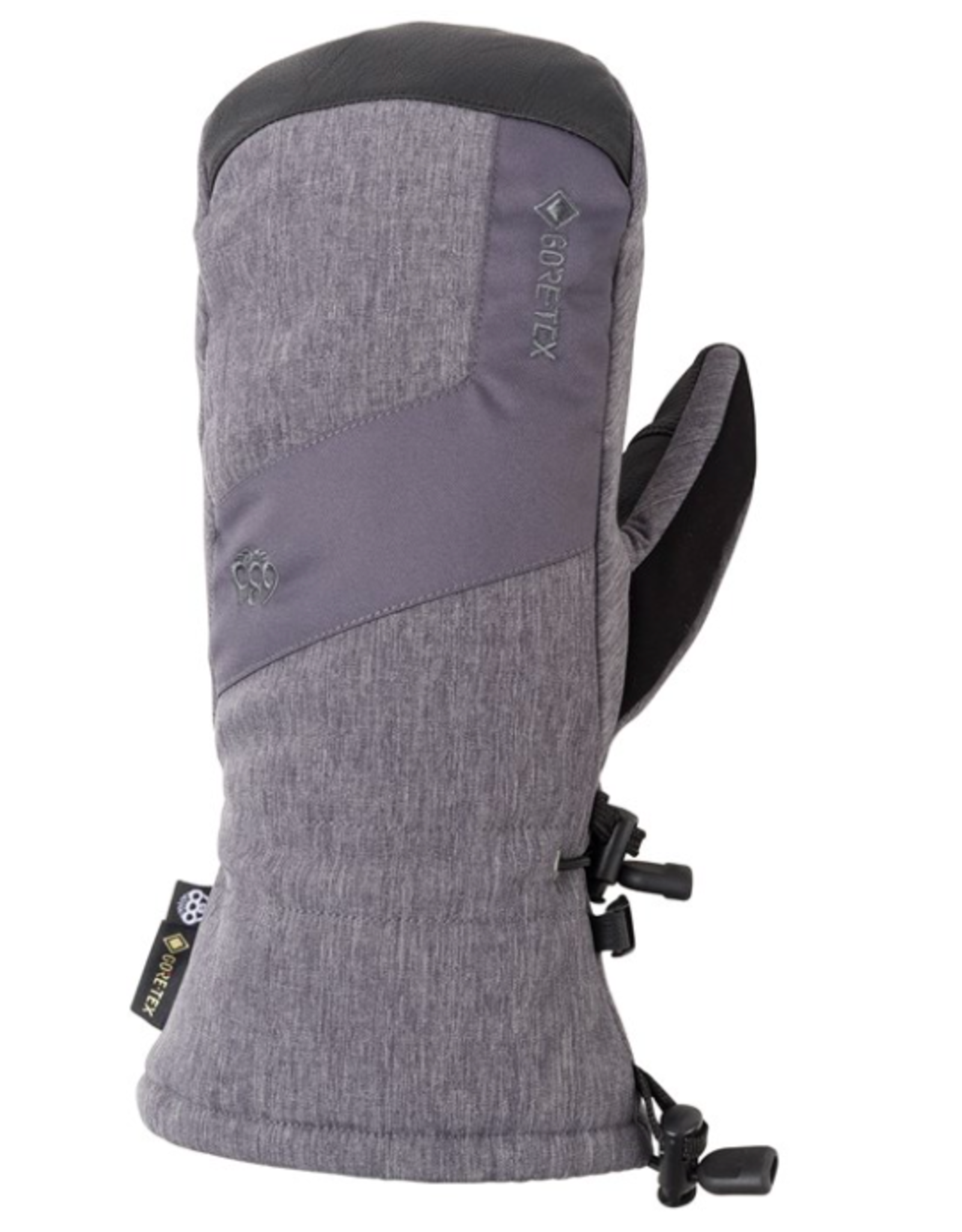 686 Men's Gore-Tex Linear Mitts Charcoal 2022