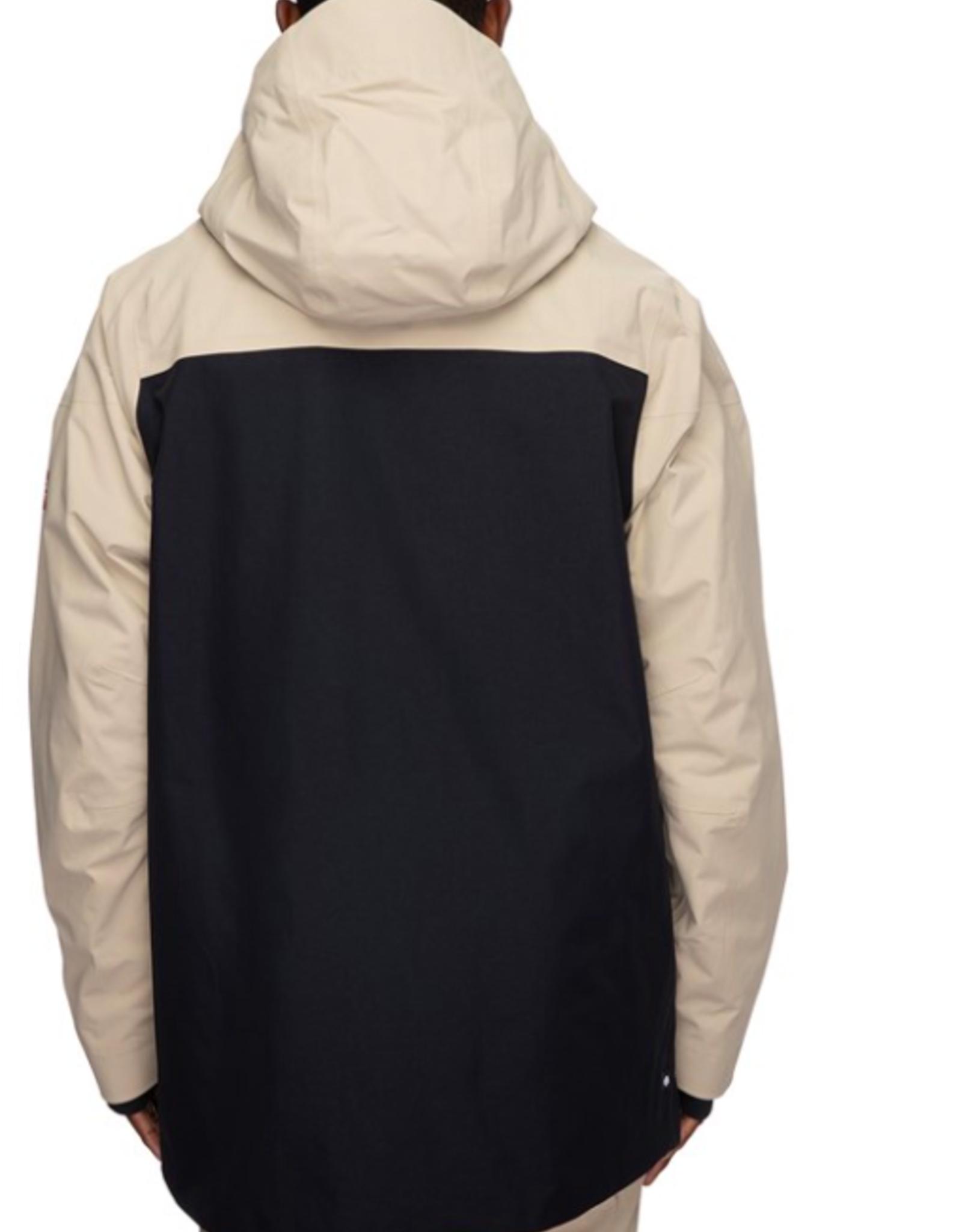 686 Men's Glacier Gore-Tex GT Jacket Putty Colorblock 2022